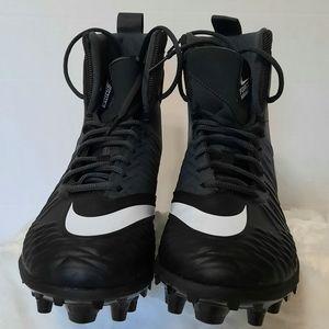 Nike Force Savage Varsity Black & White Cleats
